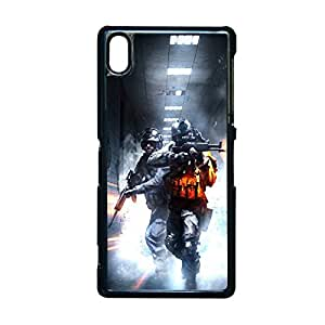 Generic Cute Back Phone Case With Battlefield 4 For Sony Z2 Choose Design 10