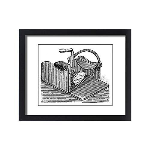 - Media Storehouse Framed 20x16 Print of Food Slice Machine (13593071)