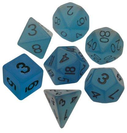 GND BU w// BK Numbers Metallic Dice Games SG/_B00MI6J11I/_US 16mm 7-set
