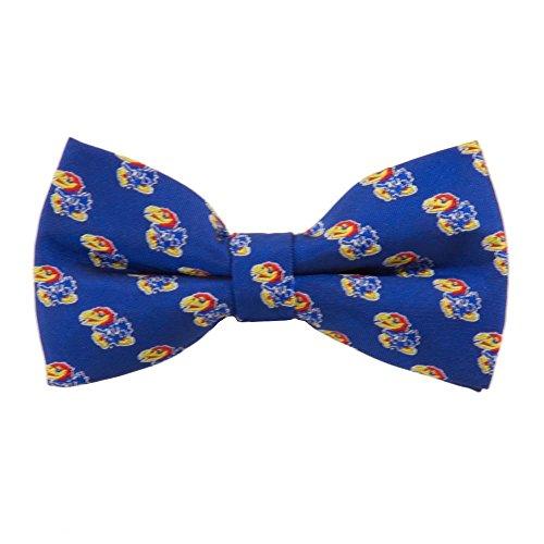 Kansas Jayhawks Repeated Logo Bow Tie - NCAA College Team