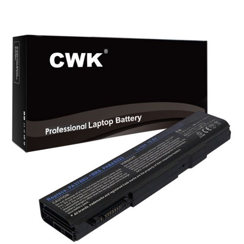 00n Battery - CWK Long Life Replacement Laptop Notebook Battery for Toshiba Tecra S11 PA3788U-1BRS PABAS223 PA3787U1BRS PABAS221 A11 Series A11-001 A11-00N A11-00P A11-00Q A11-110 A11-113