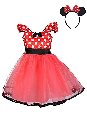 AQTOPS Christmas Party Dress Up Outfits for Baby Girls -