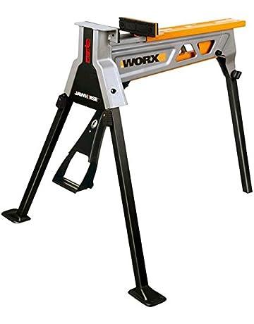 Worx wx060, abrazadera banco portátil de caballo 1 mordaza base para estación de trabajo con