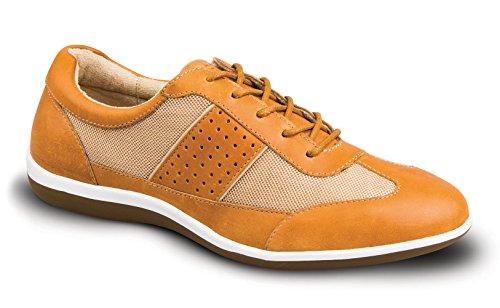 Revere Seattle Womens Comfort Shoe Con Plantare Removibile: Bagaglio / Tan 7 Medium (b) Pizzo