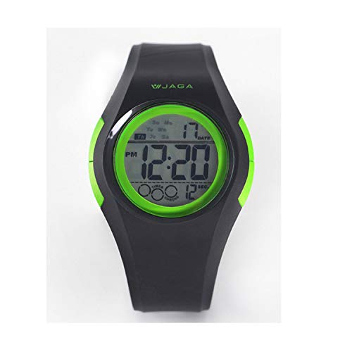 (2019 Sports Watches Movement Multifunction Electronic Watch 100 Meters Waterproof Watches Running Sports Watch,Green)