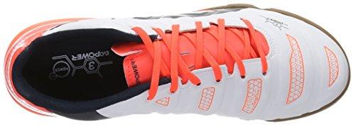 Puma evoPOWER 3.2 IT - zapatillas de fútbol de material sintético hombre blanco - Weiß (white-total eclipse-lava blast 05)