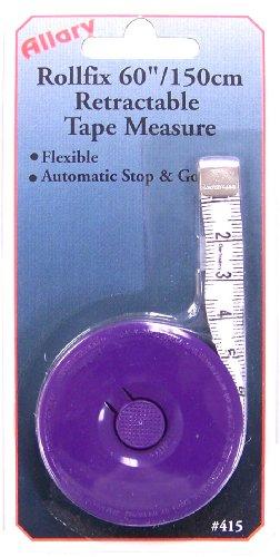 Allary Rollfix 60-Inch/150-Centimeter Retractable Tape Measu