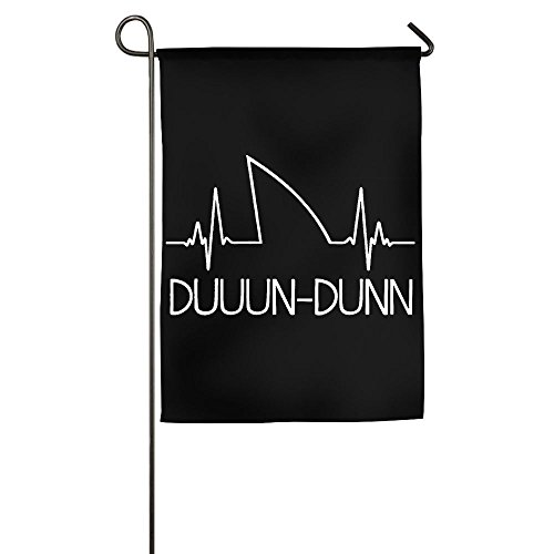 LLiYing-D Shark Heartbeat Fashion Holiday Flag