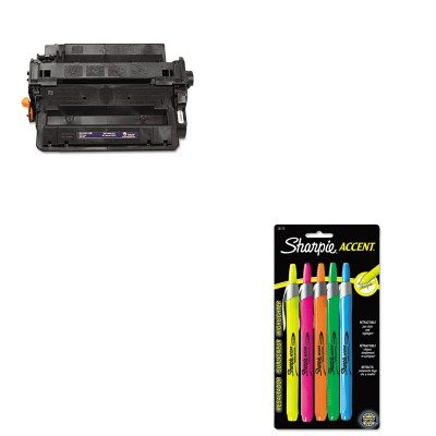KITSAN28175PPTRS0281601500 - Value Kit - Troy 0281601500 55X Compatible MICR Toner (TRS0281601500) and Sharpie Retractable Highlighters (SAN28175PP)