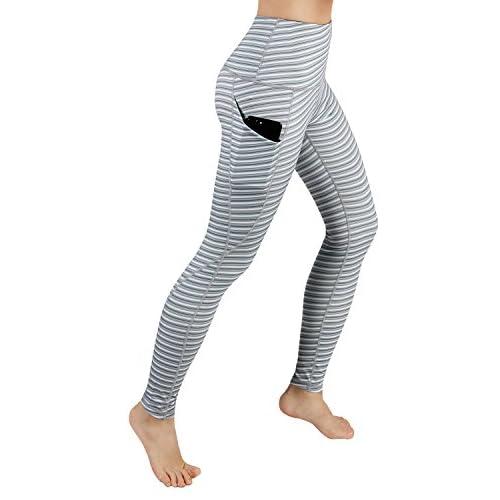 d8cfd086378839 ODODOS High Waist Out Pocket Printed Yoga Pants Tummy Control ...