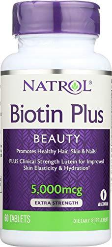 Natrol Biotin Plus + Lutein (1 Item only)