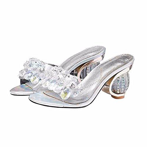 Talons Ladies' Mariage de Et Sandales de YUCH Hauts Chaussons Yin qO4ZnW1w