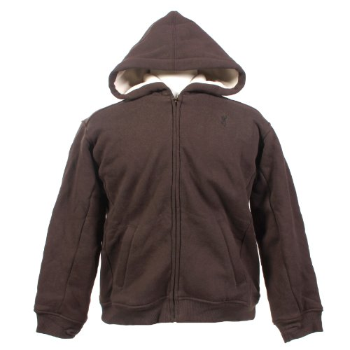 Browning Hoodie Boys Carpenter Sweatshirt Hunting Clothing Chestnut Medium