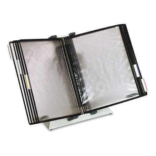 Tarifold, Inc. DA271 Desktop Reference Starter Set, 10 Antimicrobial Wire-Reinforced Pockets