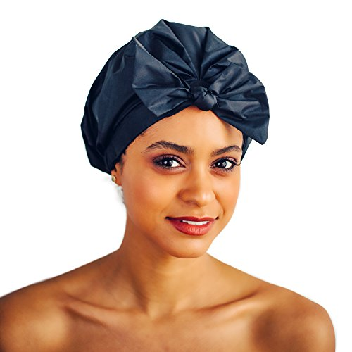 Kitsch Luxe Shower Cap (Black)