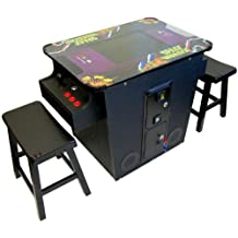 Cocktail Arcade Machine 60 in 1 Games Includes 2 Benches 1 Year Warranty Features Games like Pac-Man Space Donkey Kong Space Invaders BRAND NEW SHIPS FREIGHT TO CANADA