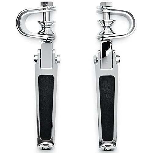 Clamps For Harley Davidson Ultra Tour Glide Classic Krator Chrome AntiVibrate Engine Guard Foot Pegs