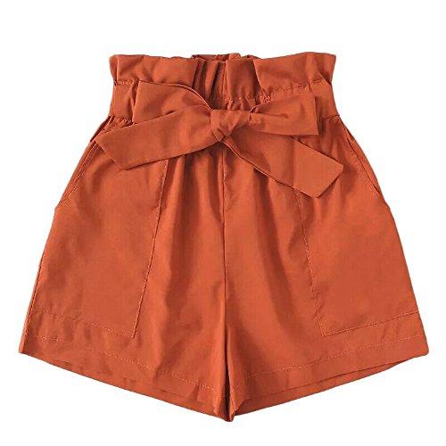 Sale UOKNICE Shorts for Women,Boho Fashion Women Pocket Loose Hot Pants Lady Summer Beach Shorts Trousers