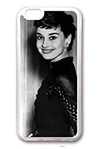 TPU Clear Soft Case For iPhone 6 And Many Design iPhone Case Latest style Case Suit iPhone 6 4.7 Inch Very Nice And Ultra-thin Case Easy To Operate Audrey Hepburn 201