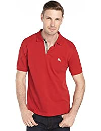 Brit mens check placket polo PPM64418 3886872
