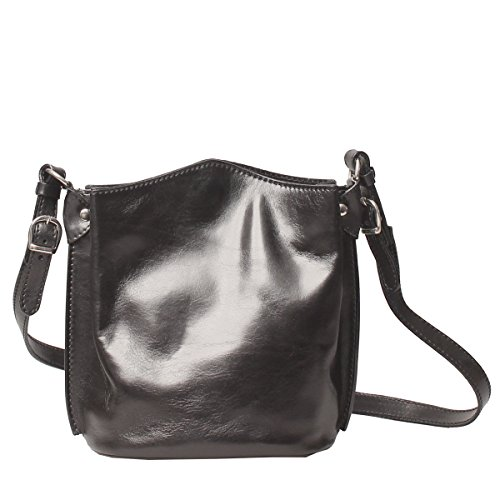 Maxwell Luxury Scott Black Leather Night Purse Palermo Body Cross araOwWqg