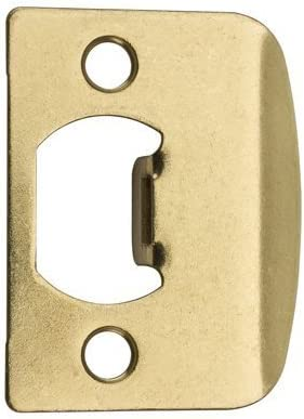 Kwik Set # 3437 01 3 CP Pol Brass STD Lock Strike (Pack of 6) by ...