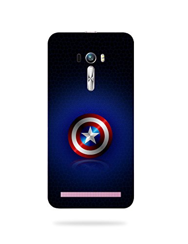 mbamarsal Polycarbonate Printed Back Cover for Asus Zenfone Selfie ZD551KL  Multicolour
