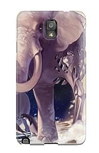 New ZmPhdyA4373QWWSR Vocaloid Animal Bird Elephant Hatsune Miku Lion Nastu Penguin Stars Vocaloid Skin Case Cover Shatterproof Case For Galaxy Note 3