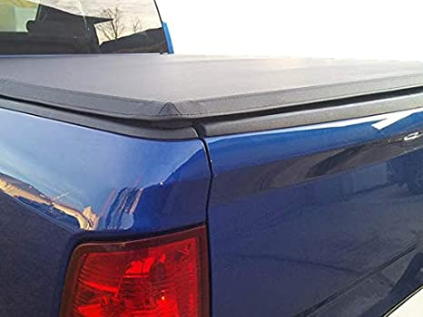 Ftis a 16-19 Tacoma 6ft Bed Truck Tonno Pro Soft Tri Fold Tonneau Cover 42-512