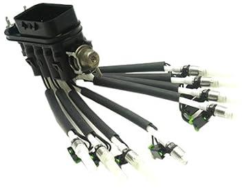 Delphi FJ10566 Fuel Injector SCPI to MFI Conversion Assembly