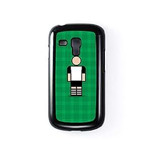 Darlington Black Hard Plastic Case for Samsung? Galaxy S3 Mini by Blunt Football + FREE Crystal Clear Screen Protector