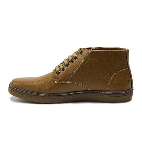 New Mens 29617 Scarpe Casual Stile Mukasca Chukka Con Cinturino Alla Caviglia