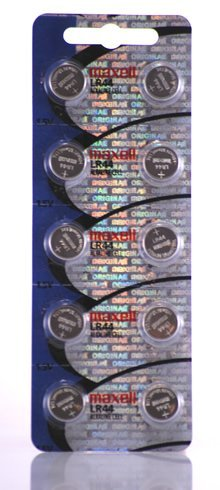 Price comparison product image Maxell LR44 Batteries 10 Pack