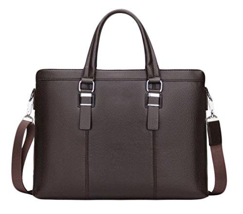Herren Business Bag Taschen Handtaschen Geldbörsen Aktentaschen Schultertaschen Messenger Bags Casual Rucksäcke DarkBrownSingleBag