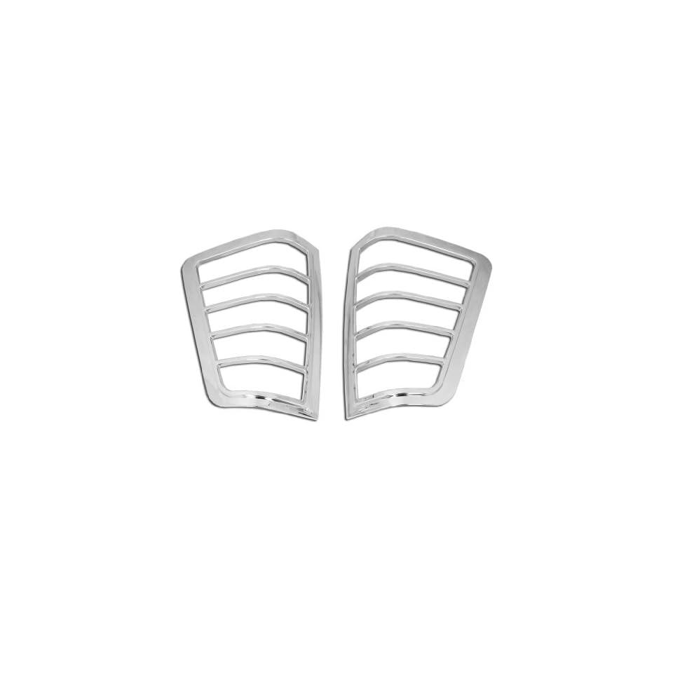 Razer Auto 2004 2014 Nissan Titan Chrome Tail Light Bezel Trim Cover