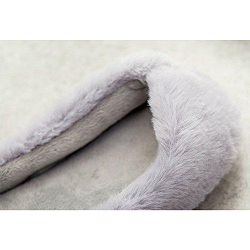 Eastlion Women's Winter Indoor Anti-skid Keep Warm Slipper Fleece Slippers House Slippers Home Shoes Pink fYlepRLYTg