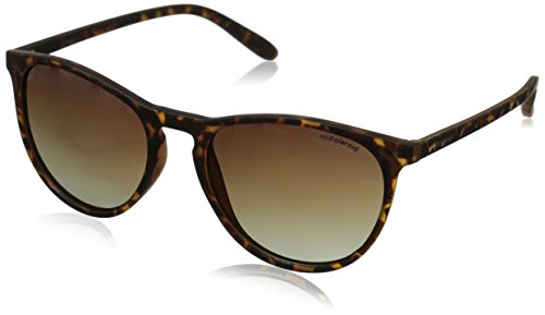 Polaroid Sunglasses Unisex-Adult Pld6003s PLD6003S Polarized Round Sunglasses, Havana/brown Gradient Polarized, 54 - By Polaroid Sunglasses