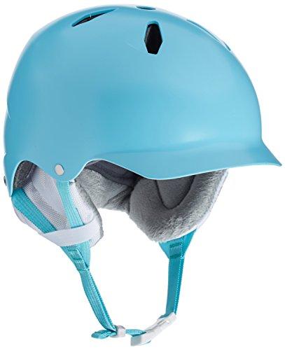 Bern Bandita Youth Snow Helmet Satin Light Blue M/L