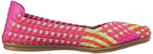 Spirit Women's Flat Easy Gibby Dark Pink Multi Fabric 6pdWRwq