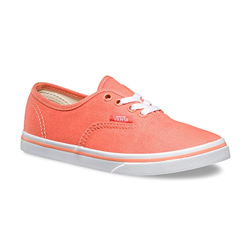 7749fd2d20 Vans K Authentic Lo Pro Fusion Coral True White VN0003IGDSN Kids 10.5