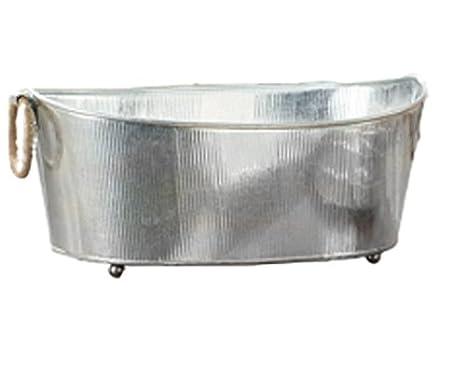 Vasca Da Bagno Zincata : Grande ovale assortiti in acciaio zincato per vasche con piedi e