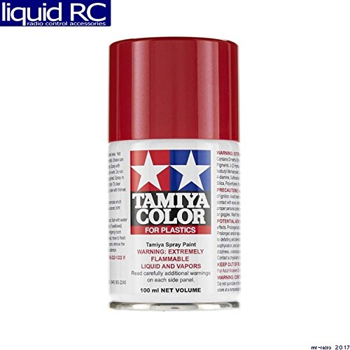 85095 Spray TS-95 Metallic Red 3oz Can