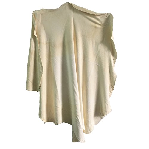 Extra Large Natural Drying Chamois (60x90cm approx) Deerskin Cleaning Cham Genuine Leather - Chamois Large