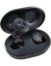 Fone de ouvido sem fio Tranya M10B com Bluetooth 5.1, driver de 14,2 mm, graves profundos e profundos, bateria de 35 horas, carregamento rápido Tipo C, latência muito baixa e proteção esportiva IPX5