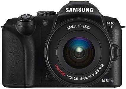 Samsung Nx11 Systemkamera 3 Zoll Inkl 18 55 Mm Ii Osi Kamera