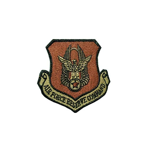 US Air Force Reserve Command OCP Scorpion Spice Brown Patch with Hook Fastener ()