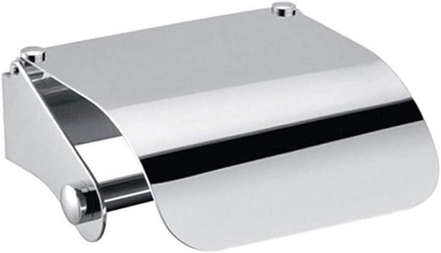 Caja de papel de acero inoxidable Soporte para pañuelos Soporte para rollo de luz Soporte para papel higiénico Baño Caja de papel higiénico, luz k15: Amazon.es: Bricolaje y herramientas