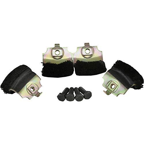 Eckler's Premier Quality Products 25-113839 - Corvette Anti-Rattle Door Window Bumpers ()