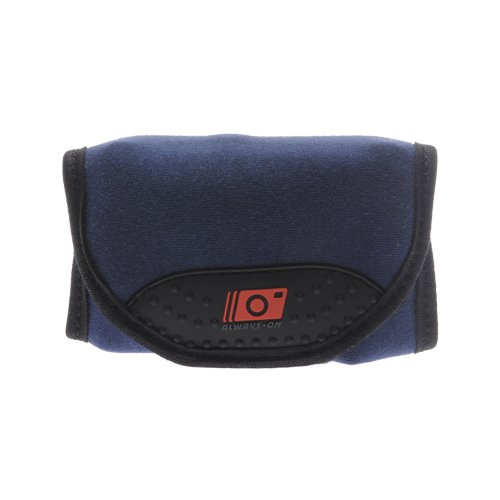 MADE Always On Wrap-Up Compact Digital Camera Case (Navy Blue) for Sony CyberShot DSC-H55, HX5V, S2000, S2100, W290, W320, W330, W350, W370, W380, WX5, TX5, TX7, TX9, T99 Digital Cameras
