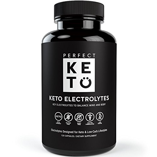 Perfect Keto Flu Electrolyte Supplement: Electrolytes Capsules for Low Carb Diet or Ketogenic Diet to Balance Mind & Body - Energy Supplements - Sodium, Potassium, Magnesium by Perfect Keto